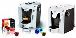 Und noch eine Kaffemaschine: Espresso-Kaffekapselautomat AEG Favola LM 5100 für 49 Euro bei Mediamarkt.de