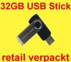 USB Stick 32GB Speicher für 16,95 € inkl. Versand bei eBay
