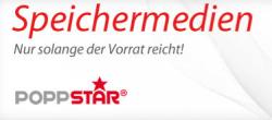 Verschiedene Poppstar Speichermedien mit bis zu 50% Rabatt bei MeinPaket.de