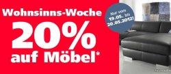 20% Rabatt auf Möbel bei Neckermann.de – nur bis Sonntag 24 Uhr!