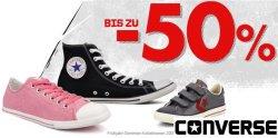 50% Rabatt auf mehr als 130 Converse-Modelle für Sie&Ihn @sarenza.de