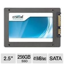 Crucial CT256M4SSD2 256GB 2,5″ SSD-Festplatte für nur € 179,06 bei eBay – Preisvergleich € 205,-