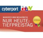 Cyberport Tiefpreistag bei ebay: Rabatte bis zu 50% – NUR Dienstag und Mittwoch!