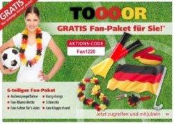 """EM Fan-Paket GRATIS bei Neckermann zur Bestellung mit Code """"Fan1220"""""""