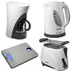 Fackelmann Kaffeemaschine / Toaster / Wasserkocher / Küchenwaage für je 14,89€ inkl. Versand