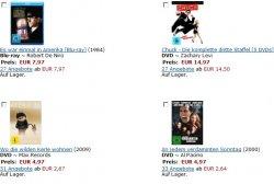 Frühjahrsputz bei Amazon: Blu-ray und DVD ab 4,97€