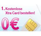 Gratis X-tra Card mit 50 Freiminuten ins T-Mobile Netz bestellen! –zusätzlich 100 Frei-SMS und 3€ Guthaben möglich