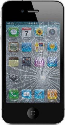 iPhone 4/4S Display-Reparatur für € 69,- inkl. Material und Hin-Rückversand (versichert!)