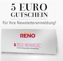 5€ Reno.de Gutschein ohne MBW + Versandkostenfreiheit z.B. kostenloser Schmuck, 3er Pack Puma Socken für 1,95inkl. Versand u.v.m