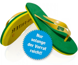 kostenlose Flip Flops @MANN-FILTER