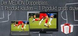 Medion Doppelpass: Ein Produkt kaufen-1 Produkt gratis dazu