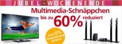 Multimedia Schnäppchen bis zu 60% reduziert beim Neckermann Jubelwochenende