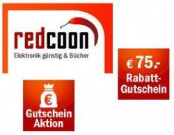 Redcoon Gutscheinaktion: verschiedene Artikel günstiger durch individuellen Gutschein