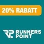 Lokal & Online bei Runners Point: 20% auf das gesamte Sortiment (auch auf Saleartikel!)