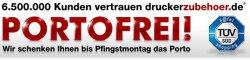 Versandkostenfrei bei Pfingstmontag – für bis zu 5€ komplett kostenlos bestellen bei druckerzubehoer.de und eis.de