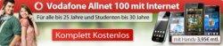 Vodafone Allnet 100 mit Internetflat für Junge Leute für effektiv 0€/Monat (im besseren Netz)!