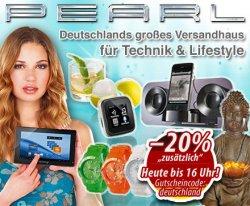 25€ Gutschein für Pearl Neukunden für nur 7,92€
