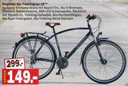 [LOKAL] 50% auf Fahrräder! Z.b. Trekkingbike 124€ ab 25.06. bei Kaisers