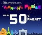 Verrückte Preise bei AccorHotels.com mit 50% Rabatt – Ideal für die Zwischenübernachtung oder Kurzurlaub