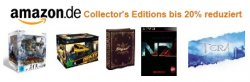 Amazon: Collector's Editions – Videospiele mit bis zu 20% Rabatt