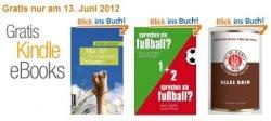 Amazon: wieder 3 kostenlose Fußball-eBooks