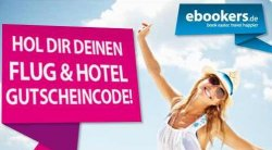 ebookers verschenkt 60€ Reisegutschein für Facebook-Fans