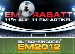 Elektronik-Star, 11 % EM-Rabatt auf 11 Artikel, z.B. Beamer, Leinwand…