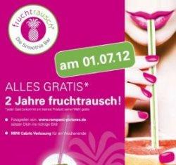 [LOKAL] in Ulm: Alles GRATIS bei fruchtrausch – Die Smoothie Bar