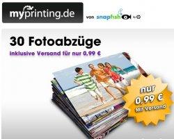 Für die Urlaubsfotos!  30 Fotoabzüge für 0,99€ inkl. Versand