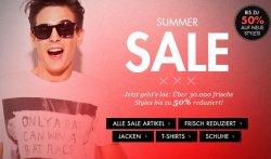 GroßerSummer Sale bei Frontline bis zu 50% Rabatt +10€ Neukundengutschein, Artikel ab 2,95€