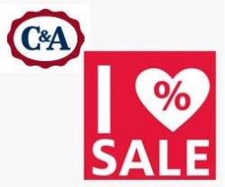 I Love Sale – jetzt bei C&A mit 50% Rabatt auf Girls, Boys, Men und Young Fashion
