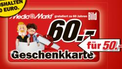 [LOKAL] 60,- € Mediamarkt Geschenkgutschein für 50€ von heute bis Dienstag +10% Aktion auf alles bei MeinPaket (1 Euro MBW)