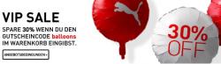 Puma – Markenklamotten: 30% Rabatt für den PUMA Shop
