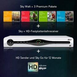 Sky Premium Paket Aktion bei Vente Privee