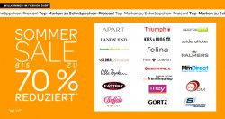 Summer Sale bis zu 70% @eBay Fashion Shop