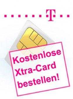 T-Mobile Xtra-Card inkl. 50 frei Miinuten und ggf. 100 frei SMS für 0€