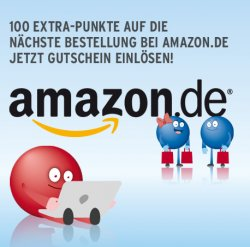 100 EXTRA Payback-Punkte auf amazon.de