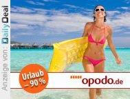 100,00 EUR Gutschein für Reisen (opodo.de) bei DailyDeal
