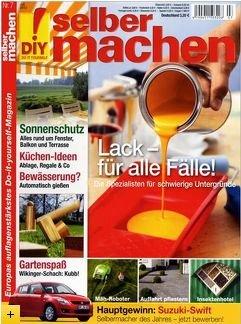 """13 Monate Heimwerker Zeitschrift """"selber machen"""" für nur 2€ / 15 Cent pro Heft"""