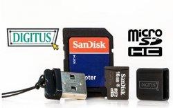 16GB micro SD + USB2.0 Mini Cardreader Stick + Adapter für nur 8,99€ inkl. Versand bei eBay