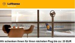 20€ Lufthansa Gutscheine