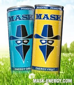 24 Dosen MASK Energy Classic oder Fruit für 11,90€ (Nur am 2.7)!