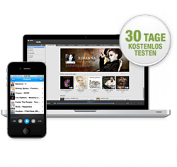 30 Tage kostenlos Musik-Flatrate simfy PremiumPLUS testen (18 Millionen Songs downloadbar)