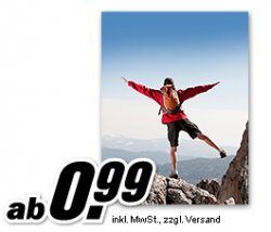 30 x 45 Poster ab 0,99 Euro beim Media Markt Fotoservice