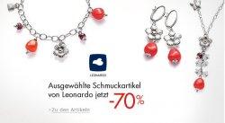 70% auf ausgewählte Schmuckartikel der Marke Leonardo @Amazon.de