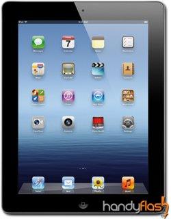 Apple iPad 3 16GB Wifi+4G für 0€ + 130 € Auszahlung @ handyflash