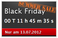 Black Friday Summer Sale am 13.07.2012 @CANCOM
