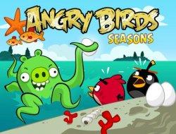 Das Spiel Angry Birds Seasons für iPad und iPhone jetzt kostenlos im iTunes Store