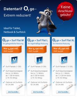 Datentarife: 1GB für 4,59 Euro | 5GB für 9,19 Euro | 7.5GB für 18,39 Euro @eteleon.de