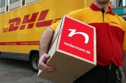 DHL liefert keine Sendungen von Neckermann.de